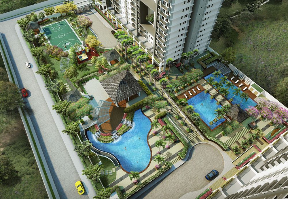 Flair Towers Dmci Homes Reliance Mandaluyong Amenity Area