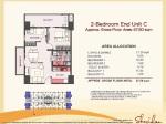 Sheridan Towers 2 Bedroom Mid UnitC