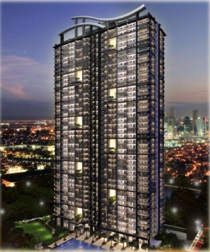Sheridan Towers Building Facade Night Shot