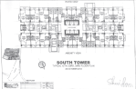Sheridan Towers South Tower 12th 23rd 33rd Floor Plan