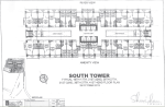 Sheridan Towers South Tower 16th 17th 21st 22nd 26th 27th 31st 32nd 36th 37th 41st 42nd Floor Plan