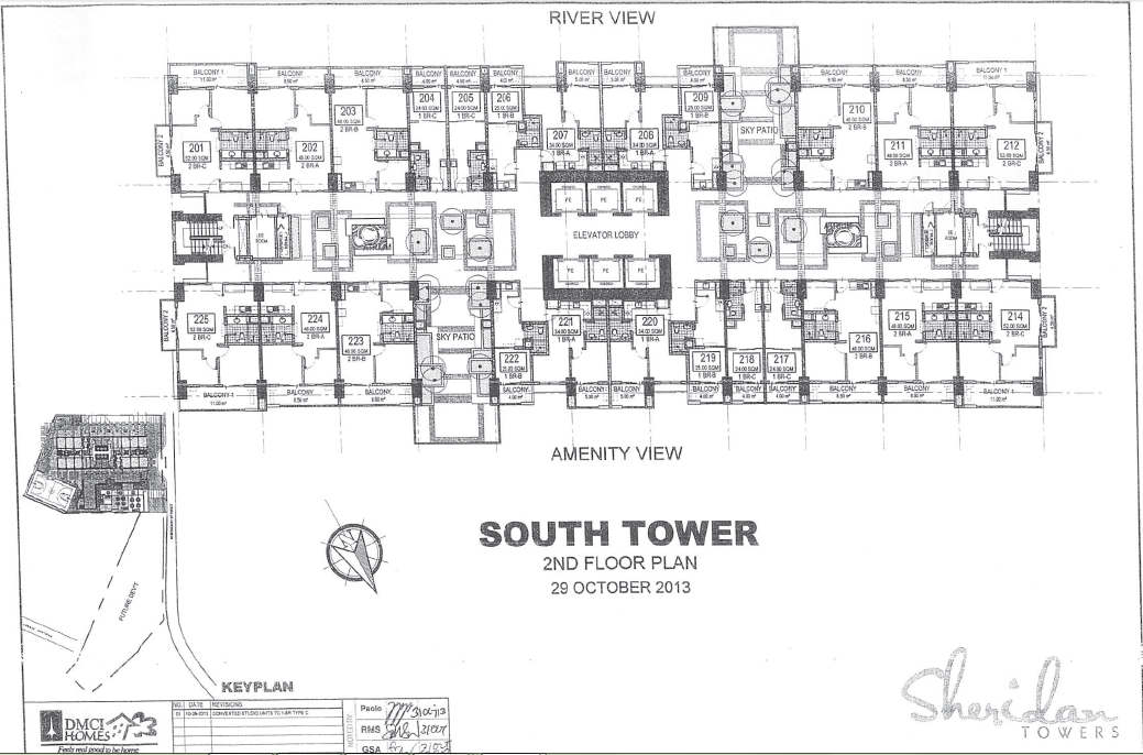 Sheridan Towers South Tower 2nd Floor Plan Sheridan Towers