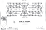 Sheridan Towers South Tower 3rd 4th Floor Plan